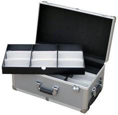 D 038 T  IV trolley silver per 3 fondini campionario occhiali 4