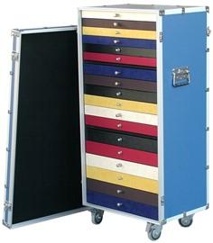C 035 III cassettiera multicolor campionario occhiali III