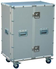 C 038 cassettiera gioielli  per eventi fieristici tripla colonna vassoi termoformati