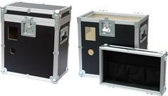 C 032 corazzata per strumentazioni elettroniche con fori per applicazioni componenti